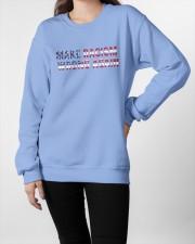 Make racism wrong again Crewneck Sweatshirt apparel-crewneck-sweatshirt-lifestyle-front-09