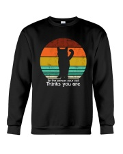 Be the person your cat thinks you are Crewneck Sweatshirt thumbnail