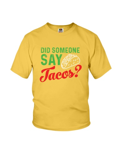 Did some one say tacos