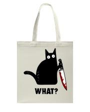 cat what Tote Bag thumbnail