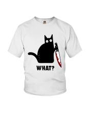 cat what Youth T-Shirt thumbnail