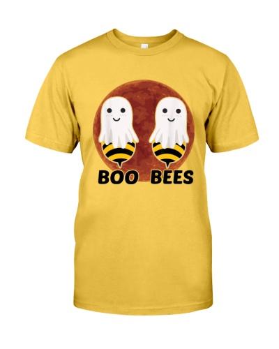 boo bees moon halloween