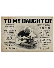 3 GUITAR  TO MY DAUGHTER 17x11 Poster thumbnail