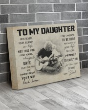 3 GUITAR  TO MY DAUGHTER 14x11 Gallery Wrapped Canvas Prints aos-canvas-pgw-14x11-lifestyle-front-12