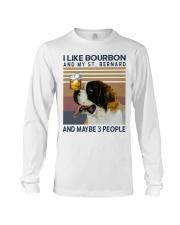 Bourbon and Saint Bernard Long Sleeve Tee thumbnail