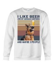 Beer and German Shepherd hp Crewneck Sweatshirt thumbnail