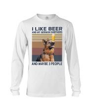 Beer and German Shepherd hp Long Sleeve Tee thumbnail