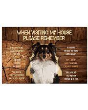 Visit home Shetland Sheep 17x11 Poster thumbnail