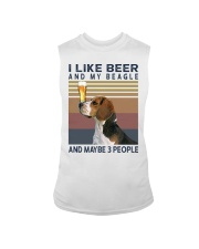 Beer and Beagles hp Sleeveless Tee tile