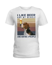 Beer and Beagles hp Ladies T-Shirt tile
