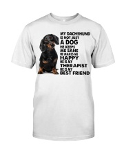 My Dachshund Premium Fit Mens Tee tile