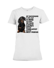 My Dachshund Premium Fit Ladies Tee tile