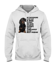My Dachshund Hooded Sweatshirt thumbnail