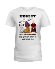 PISS ME OFF Doberman Pinscher Ladies T-Shirt thumbnail
