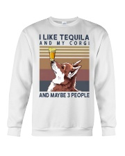Tequila and Corgi Crewneck Sweatshirt thumbnail