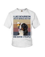 Bourbon and Bernese Moutain Youth T-Shirt thumbnail