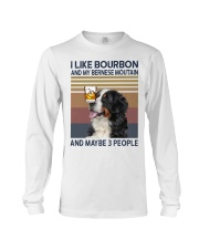 Bourbon and Bernese Moutain Long Sleeve Tee thumbnail