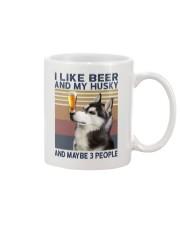 Beer and husky Mug thumbnail