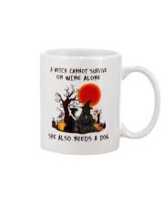 Witch Wine Miniature Schnauzer Mug thumbnail