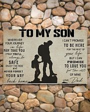 TO MY SON WHEREVER YOUR JOURNEY - HIKING 17x11 Poster poster-landscape-17x11-lifestyle-15