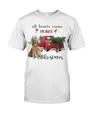 Golden Retriever Christmas Classic T-Shirt thumbnail