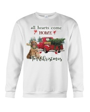 Golden Retriever Christmas Crewneck Sweatshirt thumbnail
