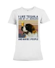 Tequila and Saint Bernard Premium Fit Ladies Tee thumbnail