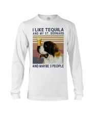 Tequila and Saint Bernard Long Sleeve Tee thumbnail