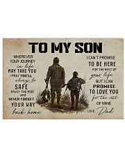 5 HUNTING TO MY SON 17x11 Poster thumbnail