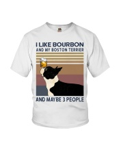 Bourbon and Boston Terrier Youth T-Shirt thumbnail