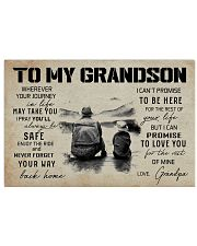 999 FISHING-TO MY GRANDSON 17x11 Poster front