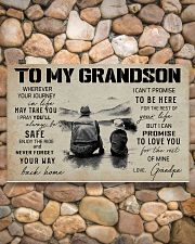 999 FISHING-TO MY GRANDSON 17x11 Poster poster-landscape-17x11-lifestyle-15