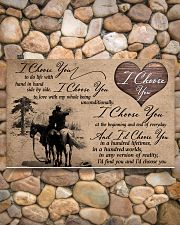 01 I CHOOSE YOU - HORSE 17x11 Poster poster-landscape-17x11-lifestyle-15