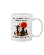 Witch Wine German Shepherd Mug thumbnail