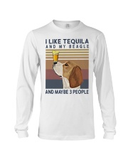 Tequila and Beagle Long Sleeve Tee thumbnail