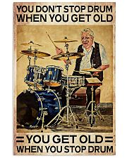 DRUM - DON'T GET OLD 11x17 Poster thumbnail