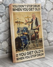 DRUM - DON'T GET OLD 16x24 Gallery Wrapped Canvas Prints aos-canvas-pgw-16x24-lifestyle-front-07