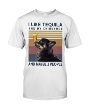 Tequila and Chihuahua kp Classic T-Shirt front