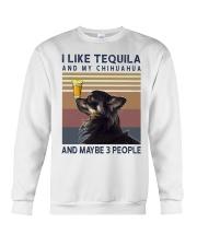 Tequila and Chihuahua kp Crewneck Sweatshirt thumbnail