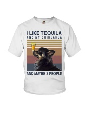 Tequila and Chihuahua kp Youth T-Shirt thumbnail