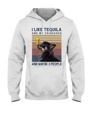 Tequila and Chihuahua kp Hooded Sweatshirt thumbnail