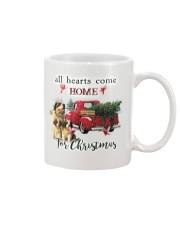 St Bernard Christmas Mug thumbnail