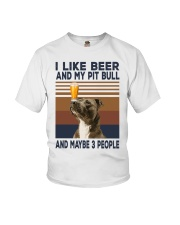 Beer and Pitbulls Youth T-Shirt thumbnail