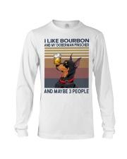 Bourbon and Doberman Pinscher Long Sleeve Tee thumbnail