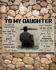 TO MY DAUGHTER WHEREVER YOUR JOURNEY - FISHING  17x11 Poster poster-landscape-17x11-lifestyle-15