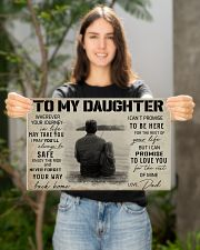 TO MY DAUGHTER WHEREVER YOUR JOURNEY - FISHING  17x11 Poster poster-landscape-17x11-lifestyle-19