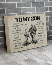 21B HUNTING-TO MY SON 14x11 Gallery Wrapped Canvas Prints aos-canvas-pgw-14x11-lifestyle-front-12