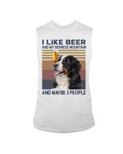 Beer and bernese mountain Sleeveless Tee thumbnail