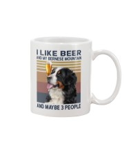 Beer and bernese mountain Mug thumbnail