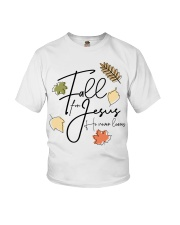 fall for jesus Youth T-Shirt thumbnail